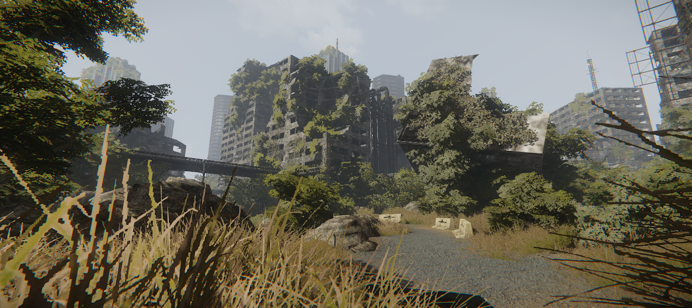 Ainas design for Cryengine 3 architecture