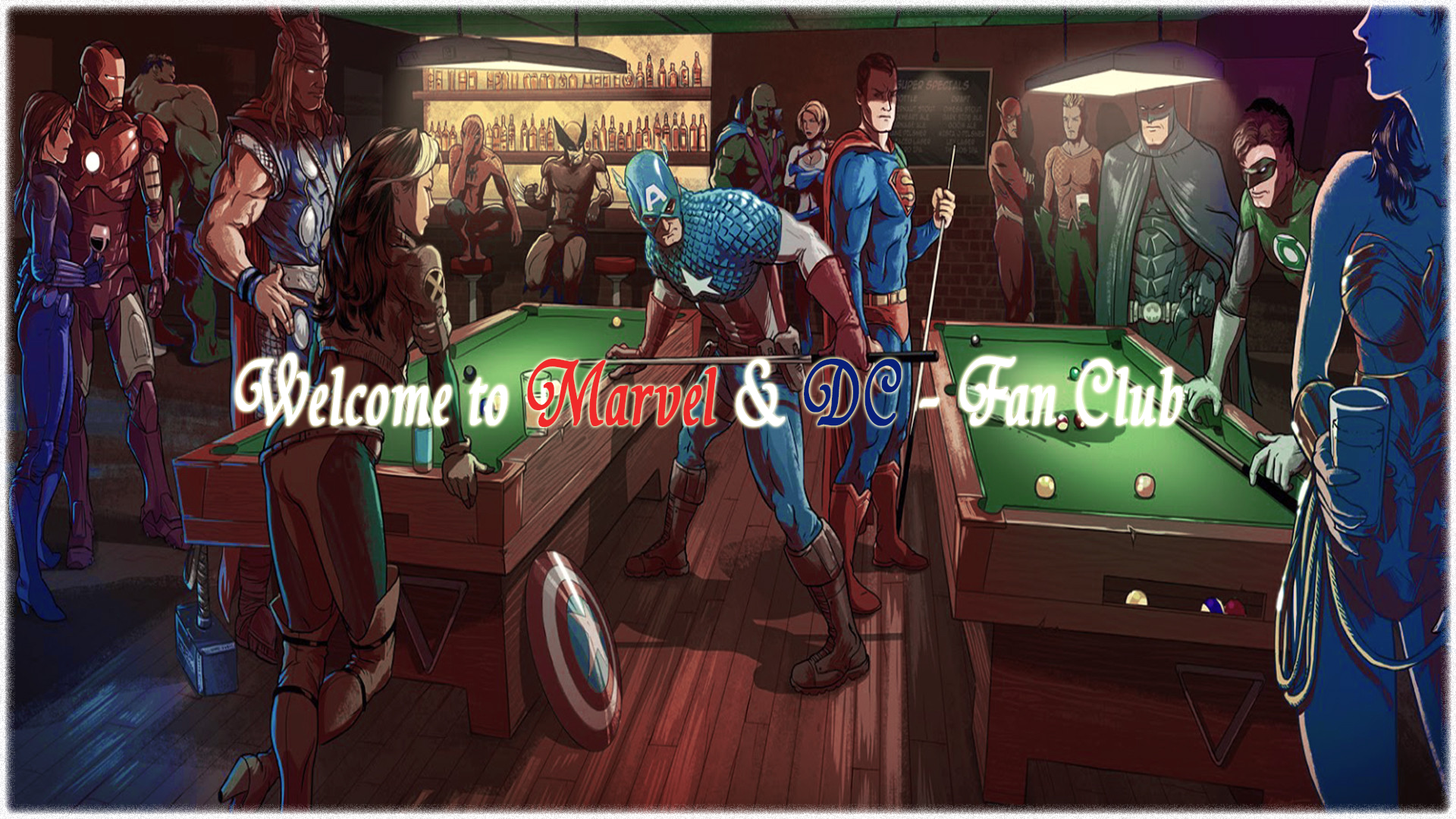 Report RSS Welcome to the new Marvel & DC Fan Club! (view original #1E3B69