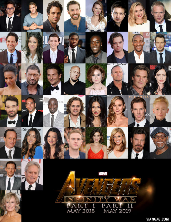 OMG! This is the cast of Avengers Infinity War image ...