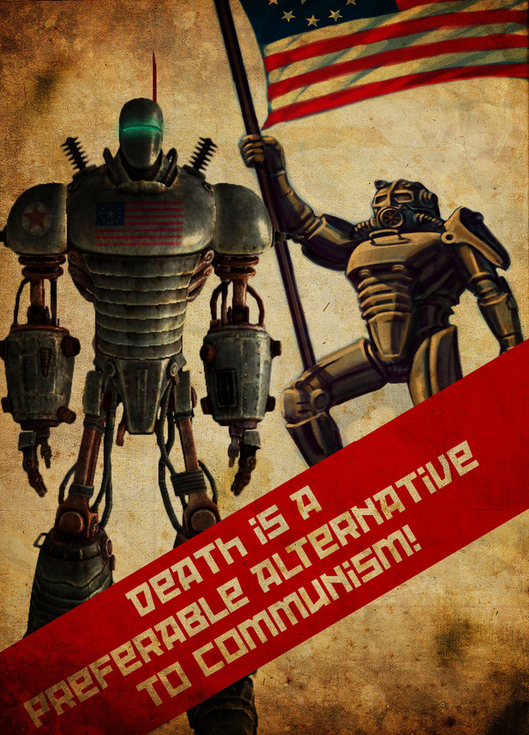 Add Media Report RSS Fallout 3 Enclave Propaganda Poster View Original