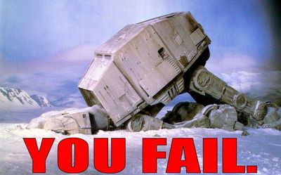 Image result for fail star wars