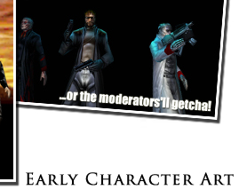 TNM Early Character Art