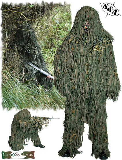 ghillie suit costume how to make