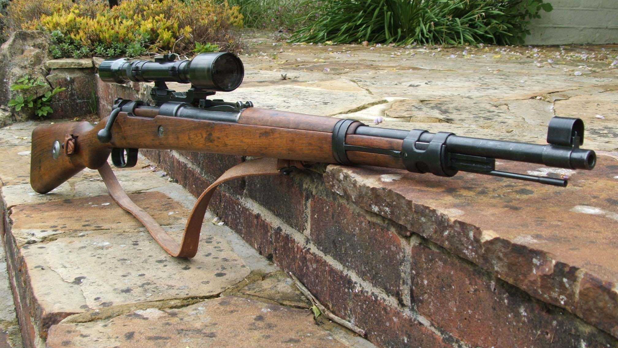 Mauser K98 Sniper Rifle Image Military Personnel Arms Mod Db