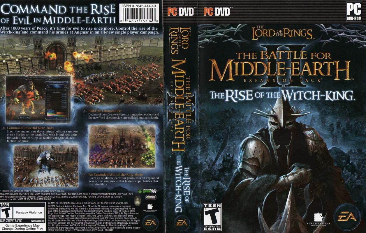 The Rise of the Witch-King ve 2.01 Patch Kurulum Rehberi ...