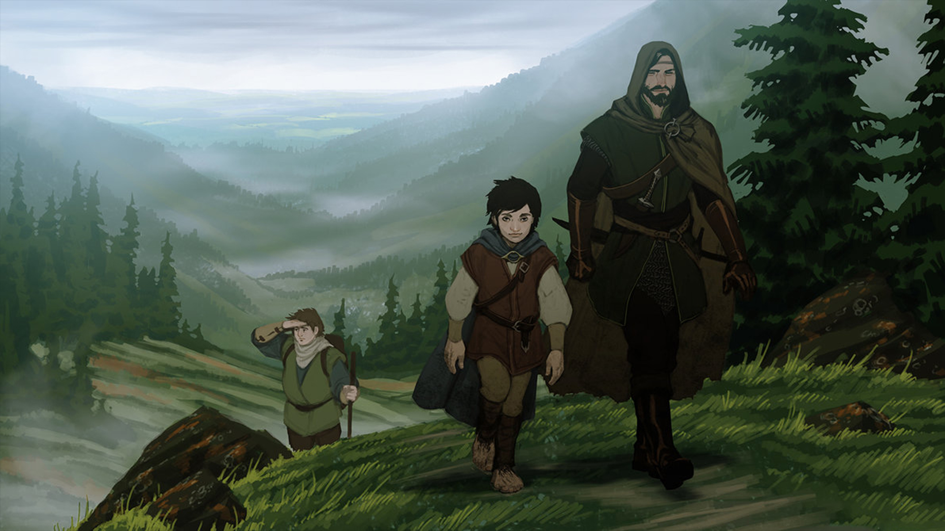 The Lord Of The Rings Art Wallpaper image - The Fellowship - Mod DB