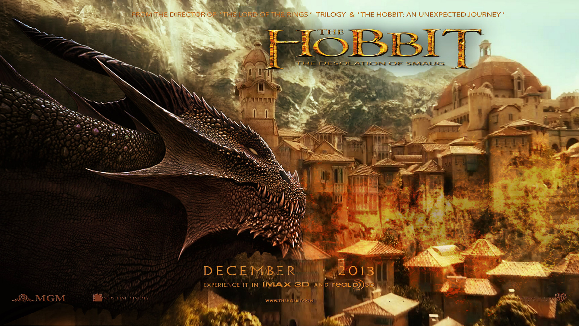 Add Media Report RSS The Hobbit 2 Desolation Of Smaug Wallpaper View Original