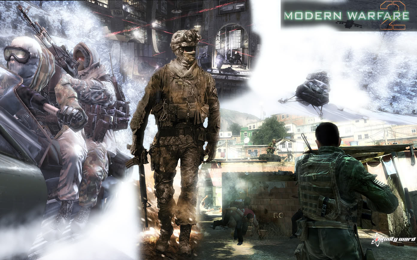 Add Media Report RSS Modern Warfare 2 Wallpaper View Original