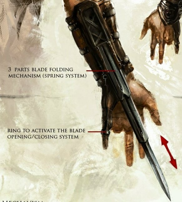 Assassin's creed hook blade for sale - Assassin's creed.