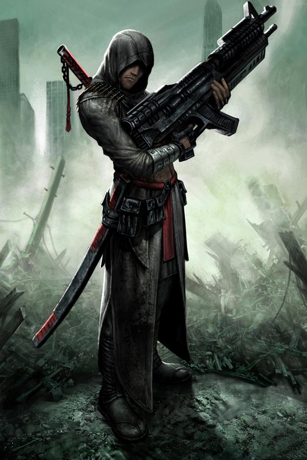 Ac1 Futuristic Concept Art Image Assassin S Guild Mod Db