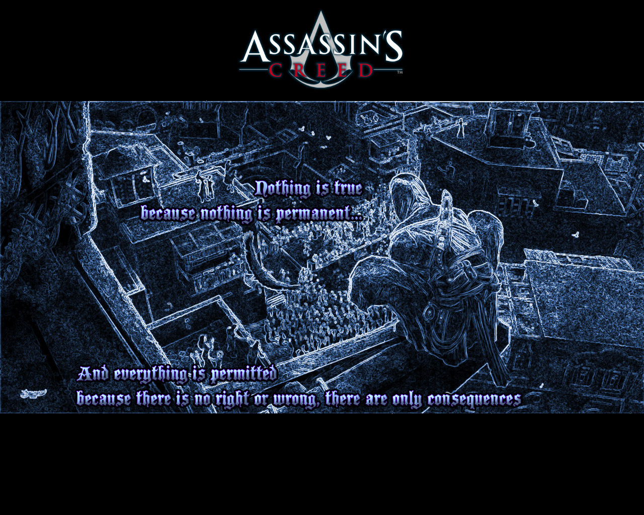 Nothing Is True And Everything Is Permitted Image Assassin S