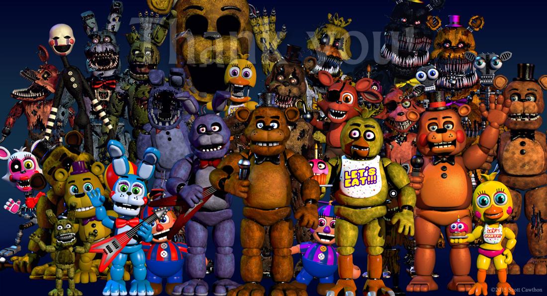 halloween update fnaf 4 ios