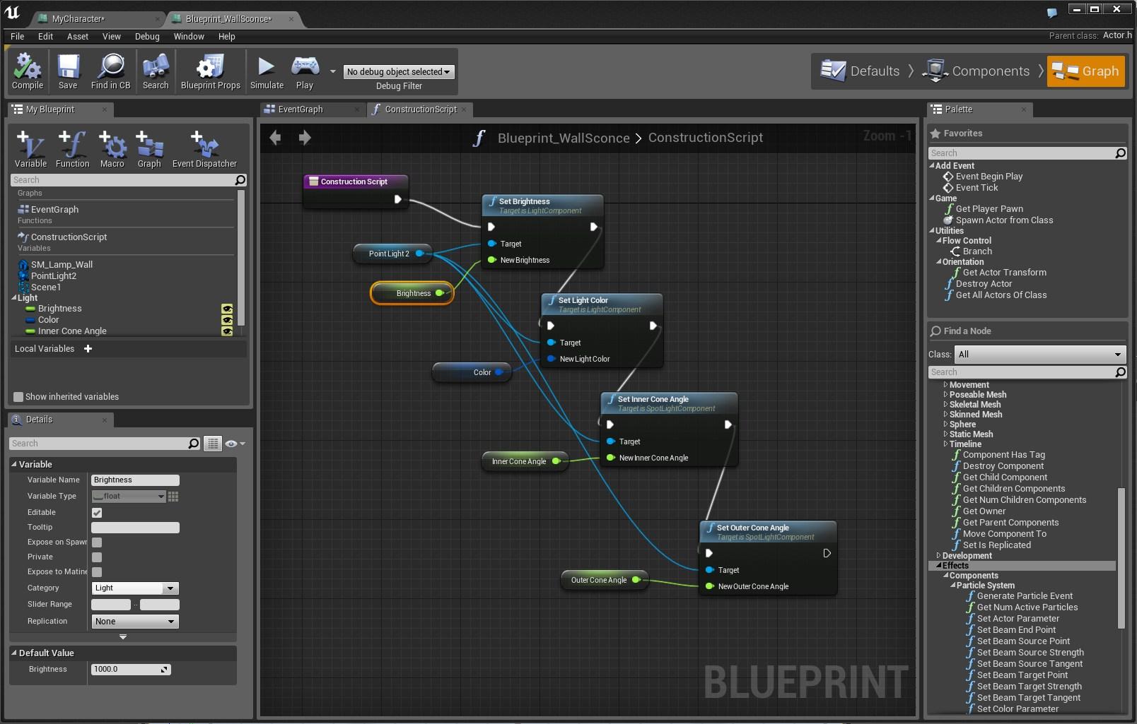 Blueprint editor image unreal engine 4 games mod db add media report rss blueprint editor view original malvernweather Image collections