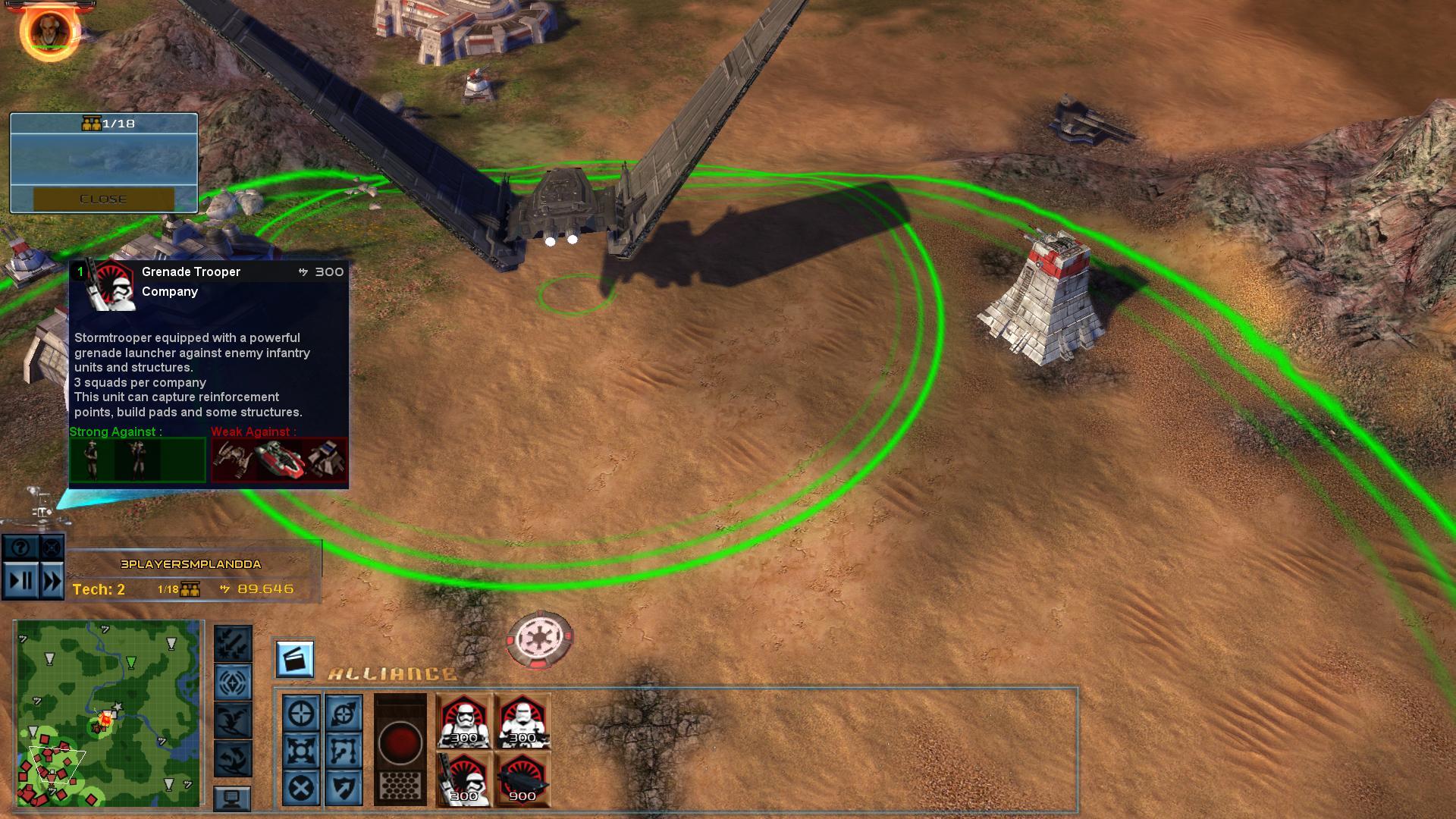 FOC Alliance Rebellion Progress :: STAR WARS™ Empire at War