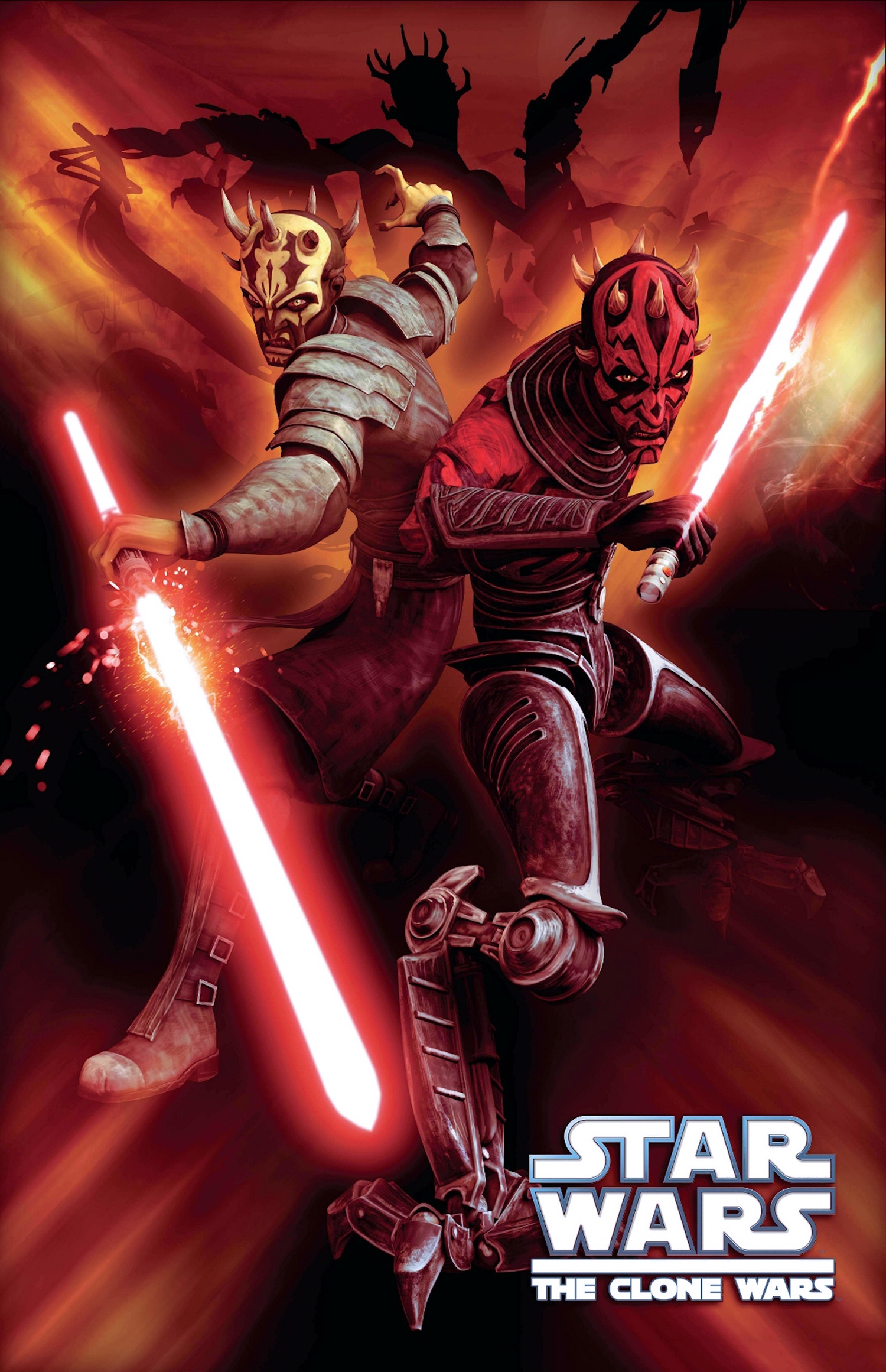 Darth Maul Savage Oppress The Clone Wars Wallpaper Image