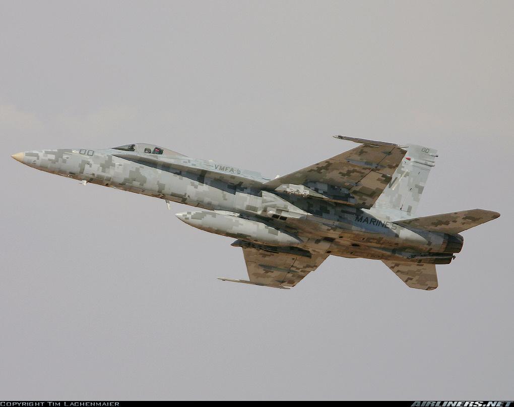 Camo aircraft