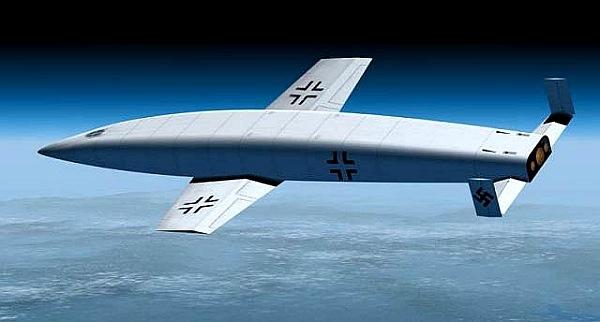 «Silbervogel»: космический бомбардировщик Третьего Рейха