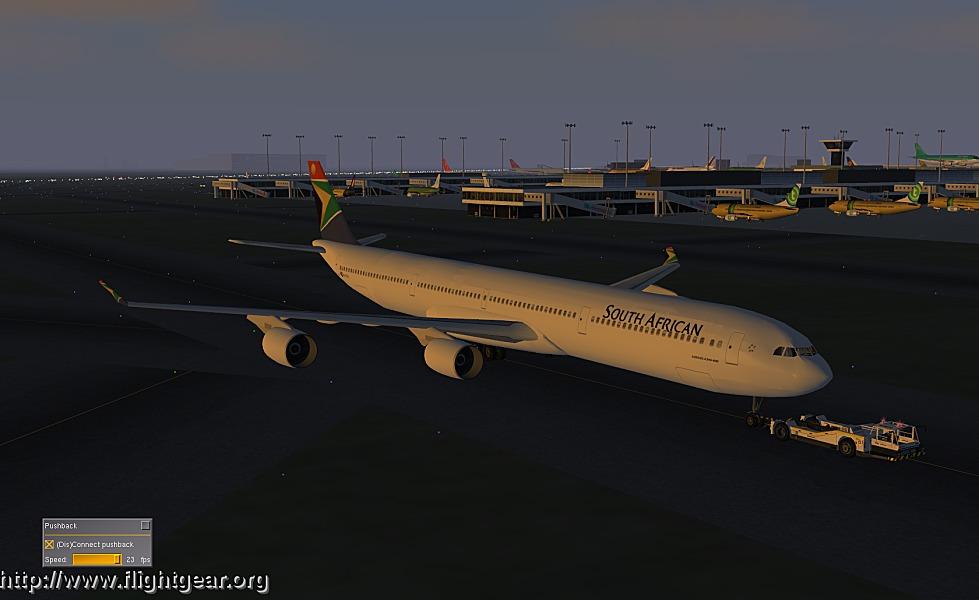 FlightGear - a flight simulator screenshot image - Aircraft Lovers