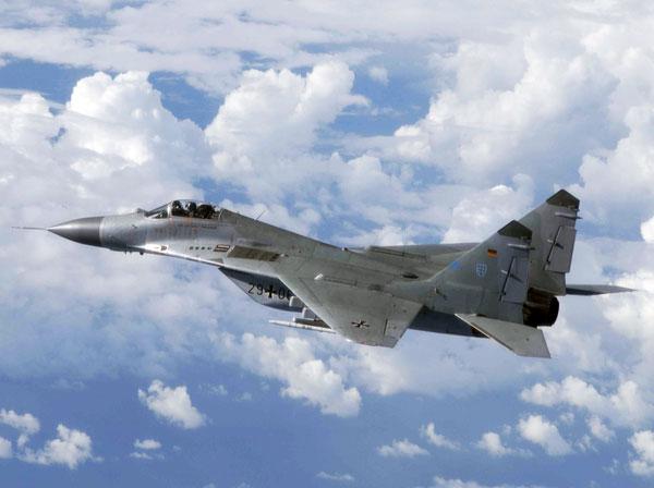 В Краснодарском крае разбился МиГ-29