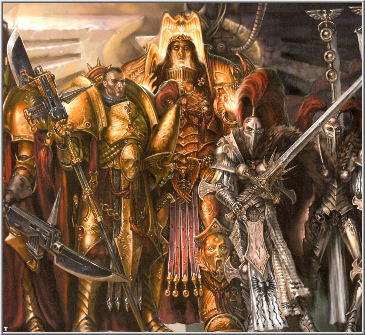 Warriors Of The Dawn Synopsis: Warhammer 40k Image
