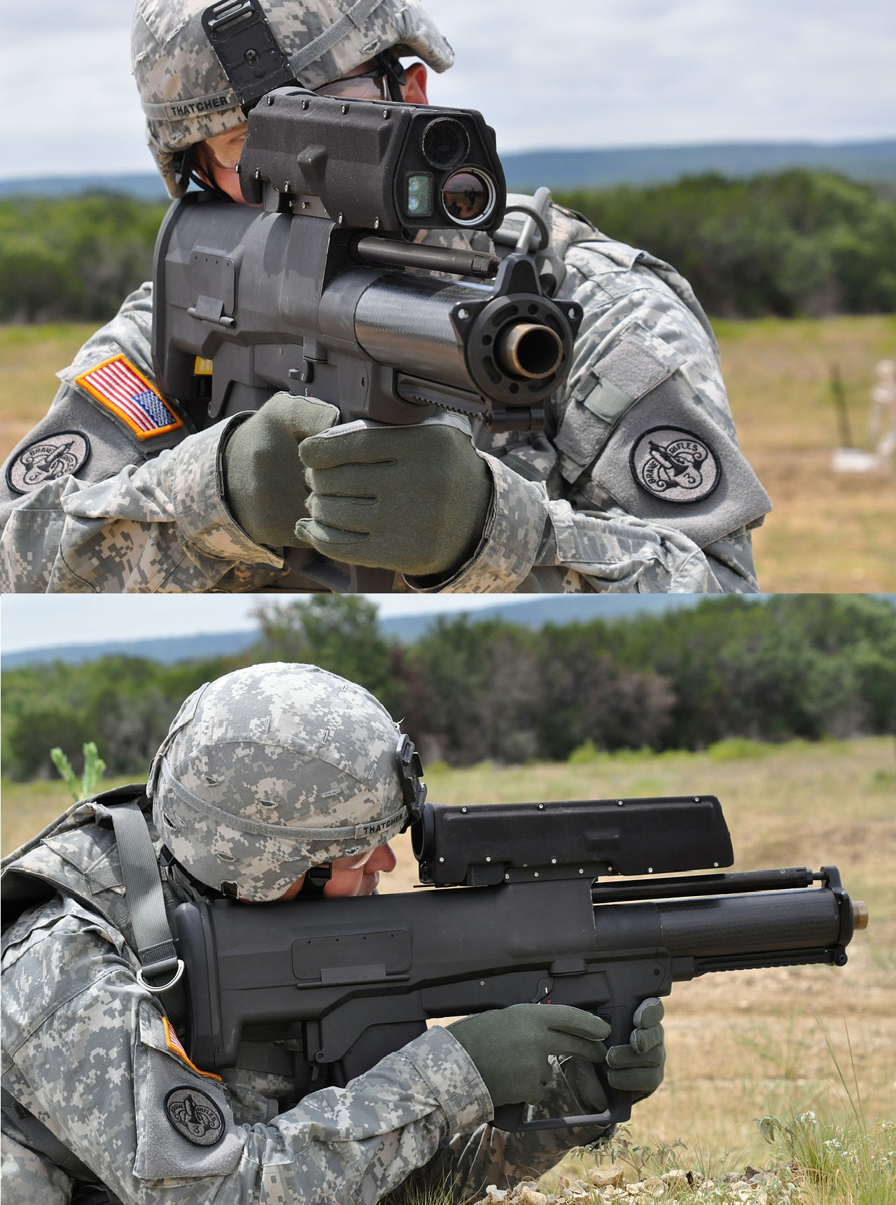 The Real Life Bolter Xm 25 Image Warhammer 40k Fan