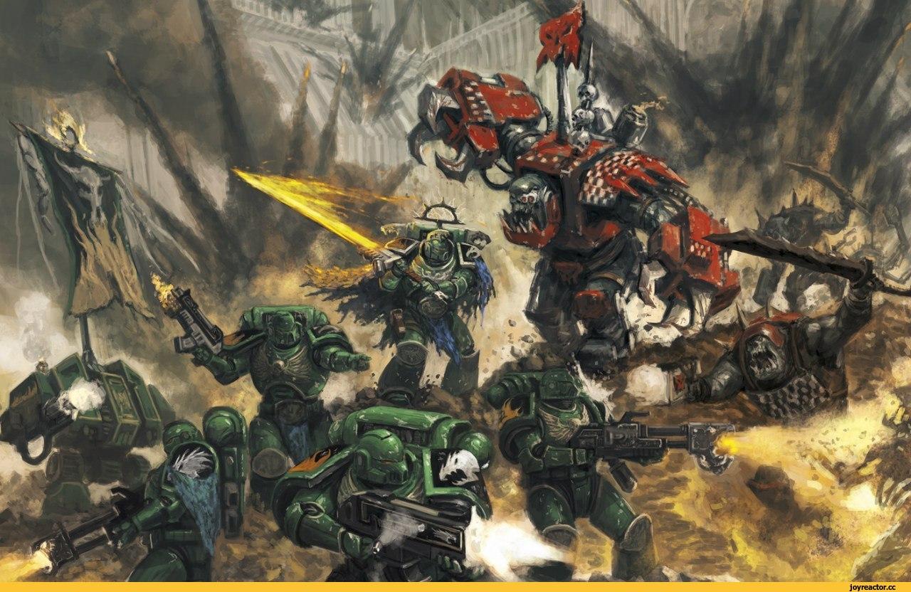 Warhammer K Orks Red Paint