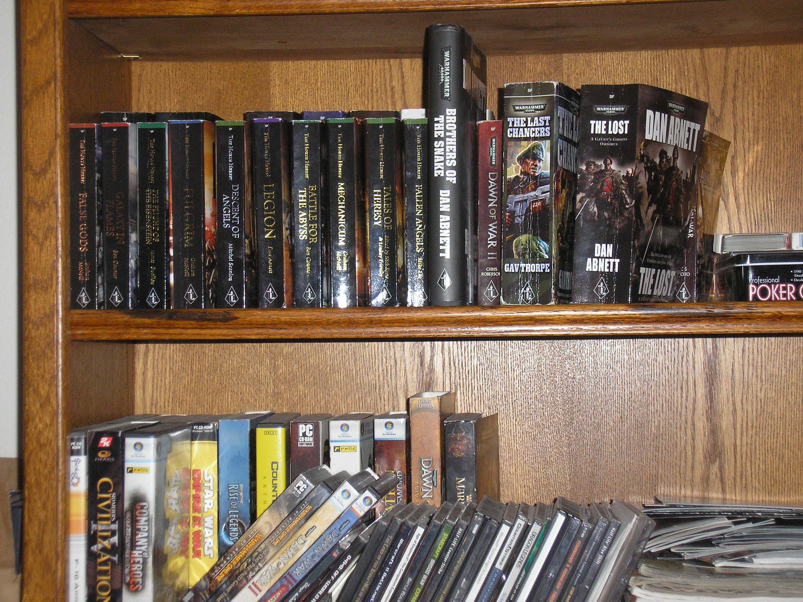 Warhammer 40k Book Collection
