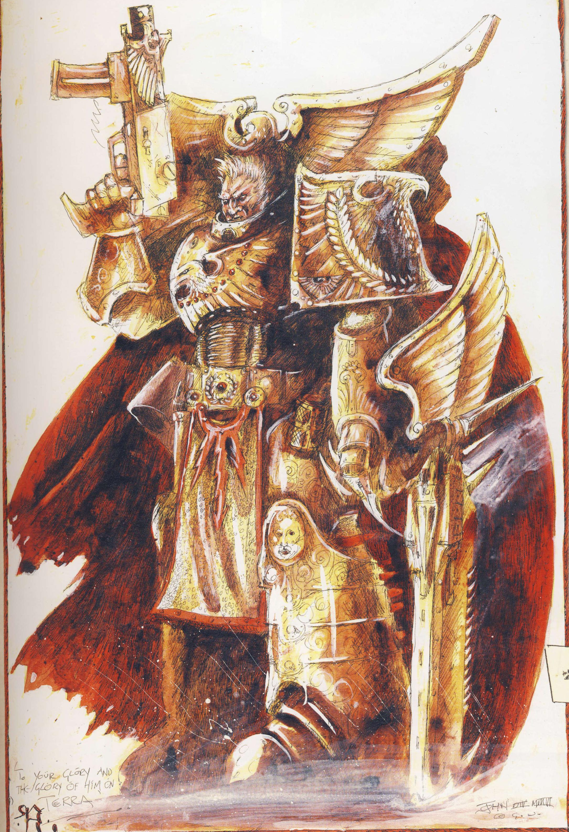 Rogal dorn primarch of the imperial fists chapter image warhammer 40k fan group mod db - Imperial fists 40k ...