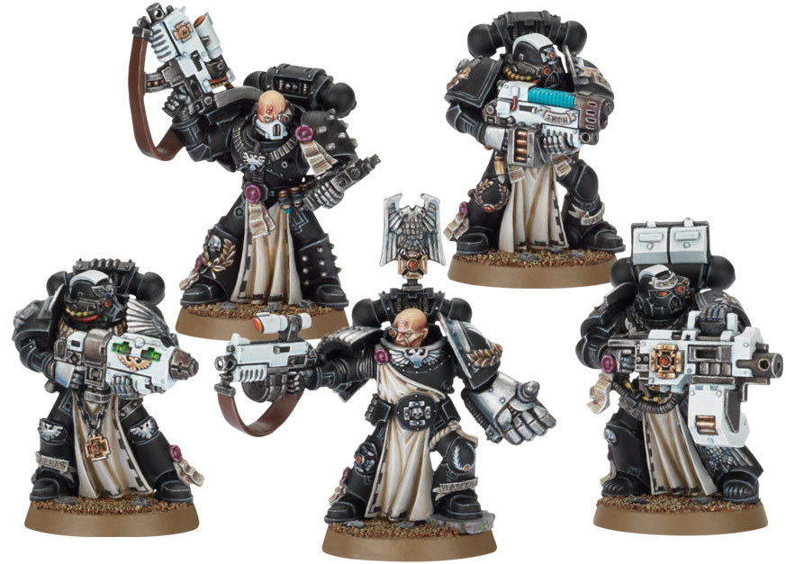 New Iron Hands And Salamanders Sterngaurd Models Image