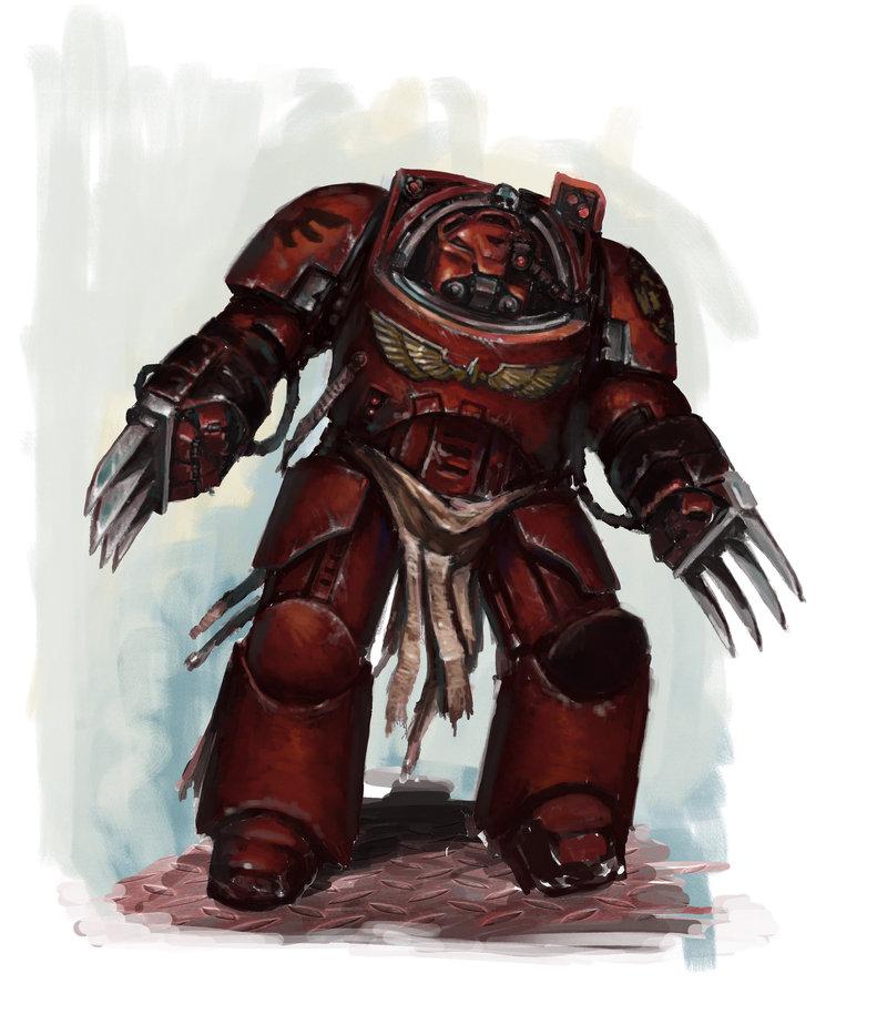 Warhammer 40k Blood Angels: Storm Guardians & Blood Angel Terminator Image