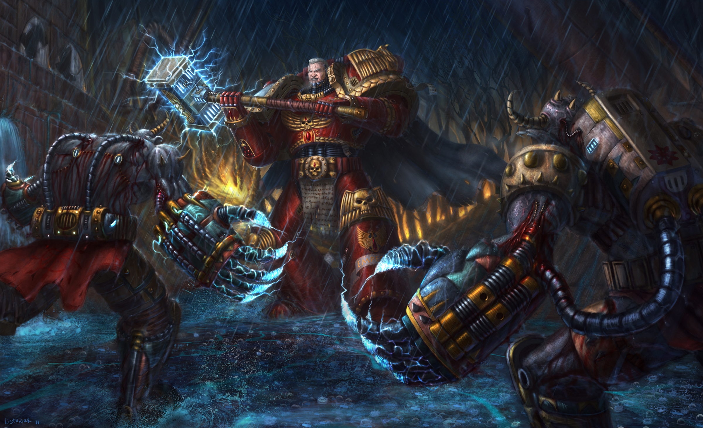 40k artwork image warhammer 40k fan group mod db