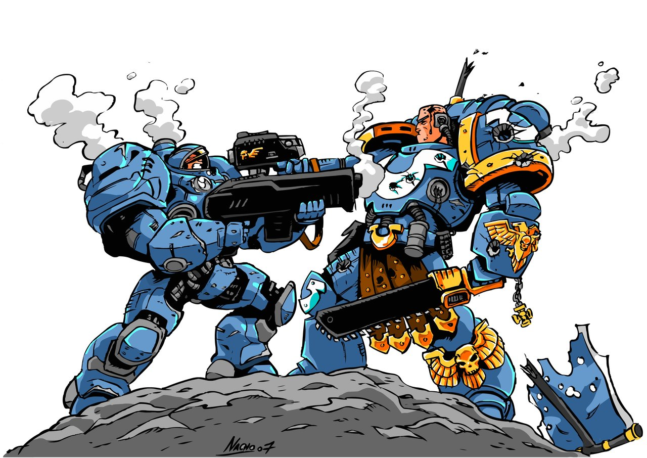 another crossover... image - Warhammer 40K Fan Group - Mod DB