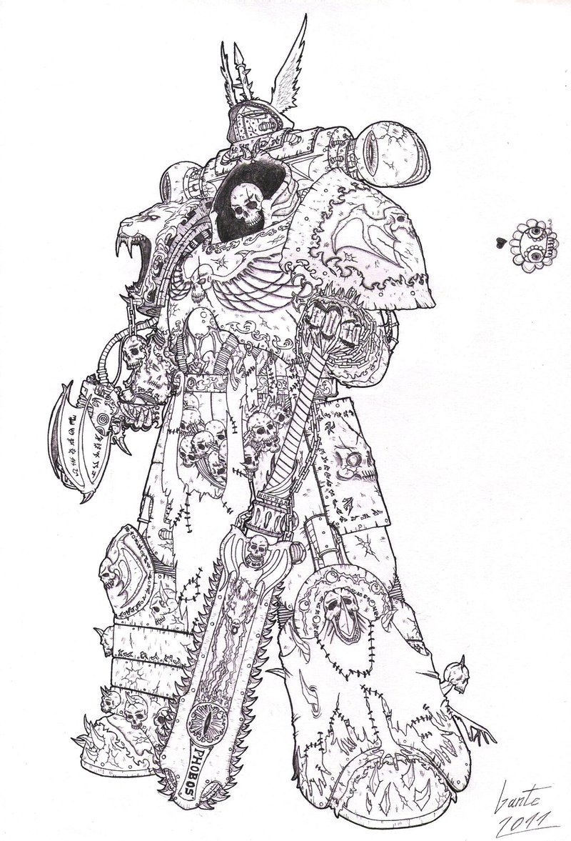 Awesome Character Art Image Warhammer 40k Fan
