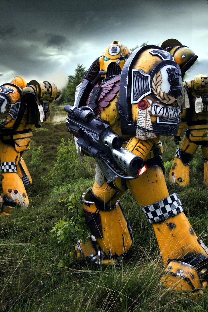 Imperial fist tactical marine squad image warhammer 40k fan group mod db - Imperial fists 40k ...