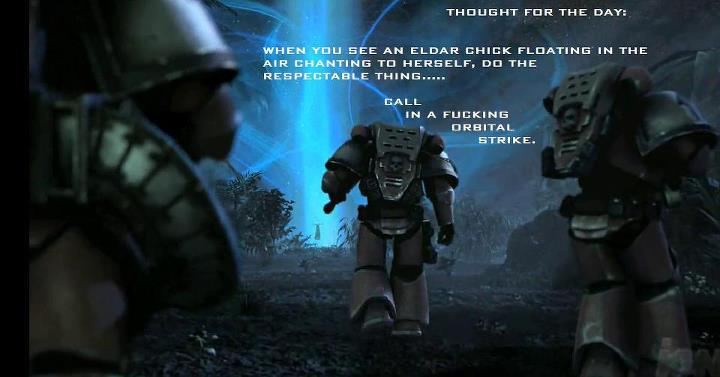 Thought Of The Day Image Warhammer 40k Fan Group Mod Db