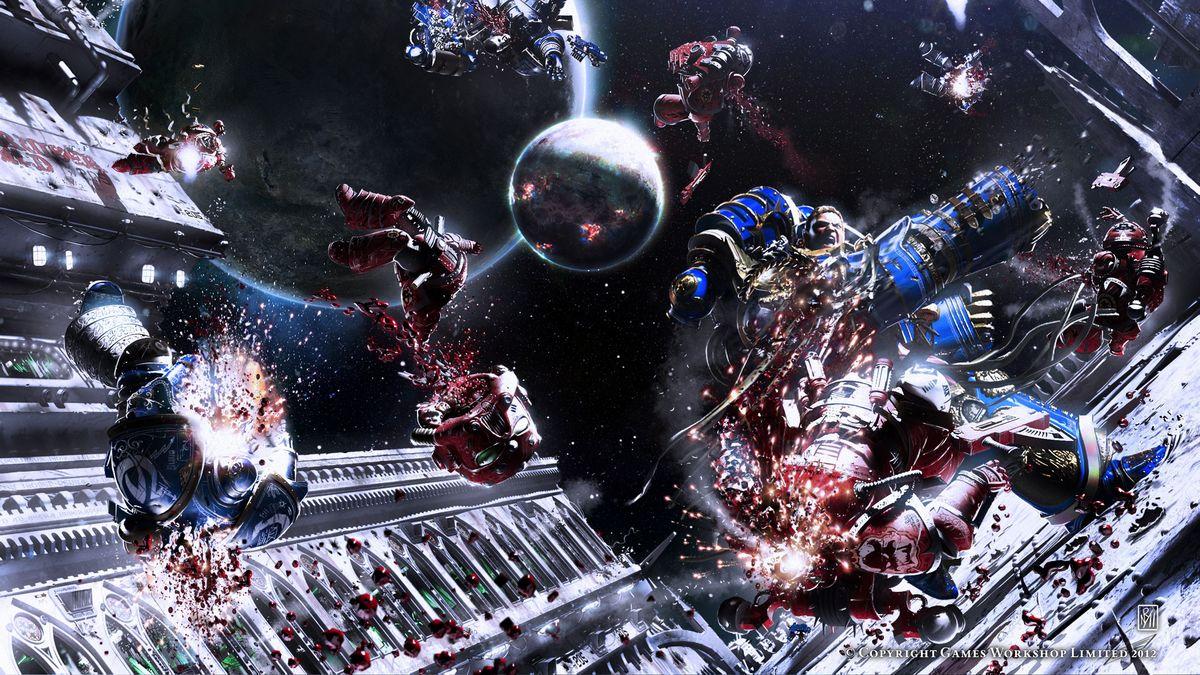Horus heresy image - Warhammer 40K Fan Group - Mod DB Warhammer 40k Space Marine Salamanders