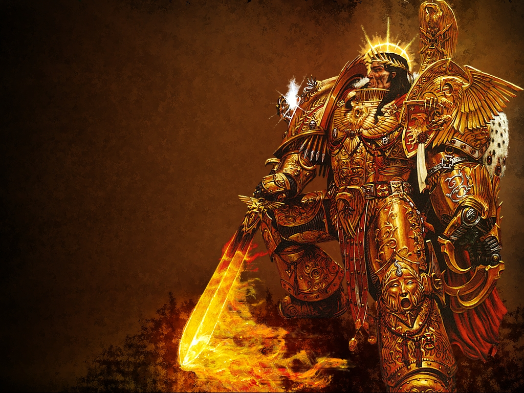 the Emperor of Mankind. image - Warhammer 40K Fan Group ...