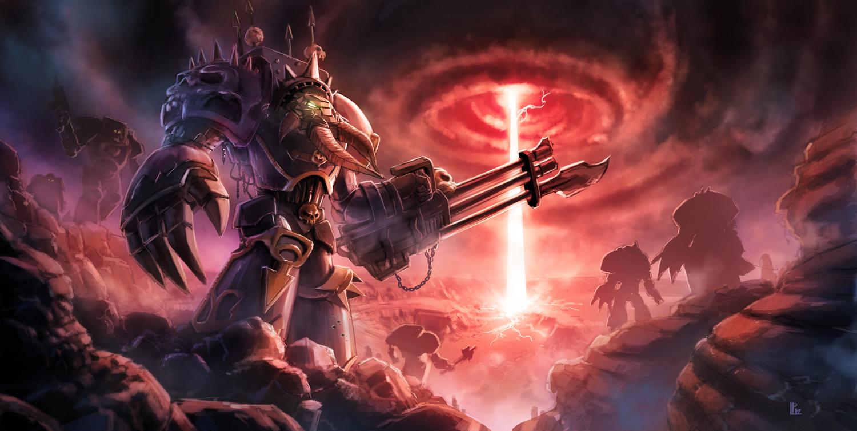 Chaos Terminators image - Warhammer 40K Fan Group - Mod DB