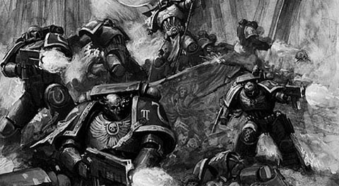 Space Marines of the Ultra Marines Chapter image - Warhammer 40K Fan Group