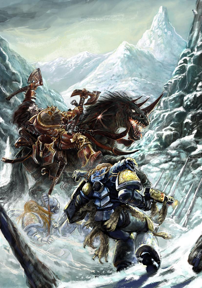 40k art by Yogh-art image - Warhammer 40K Fan Group - Mod DB