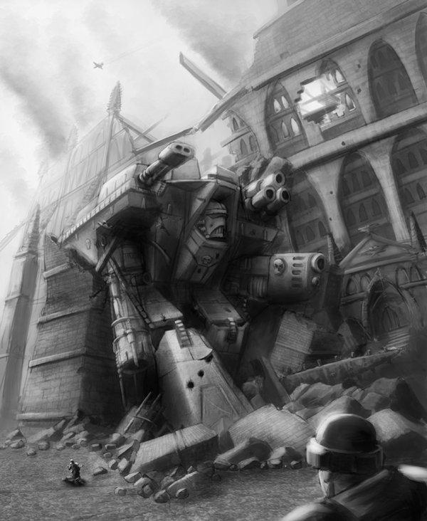 Fallen Giant image - Warhammer 40K Fan Group