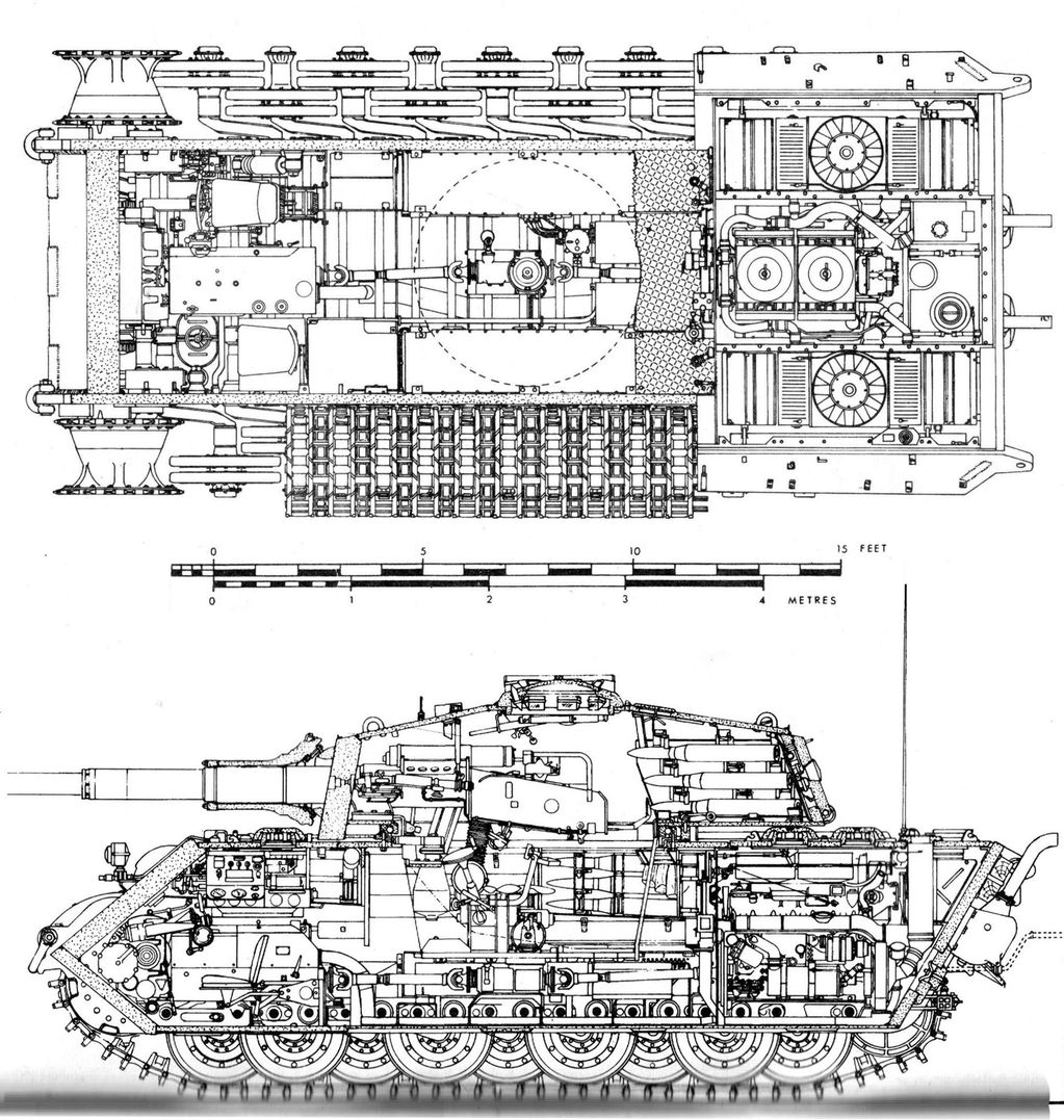 Schemes And Cutaways Image Tank Lovers Group Mod Db