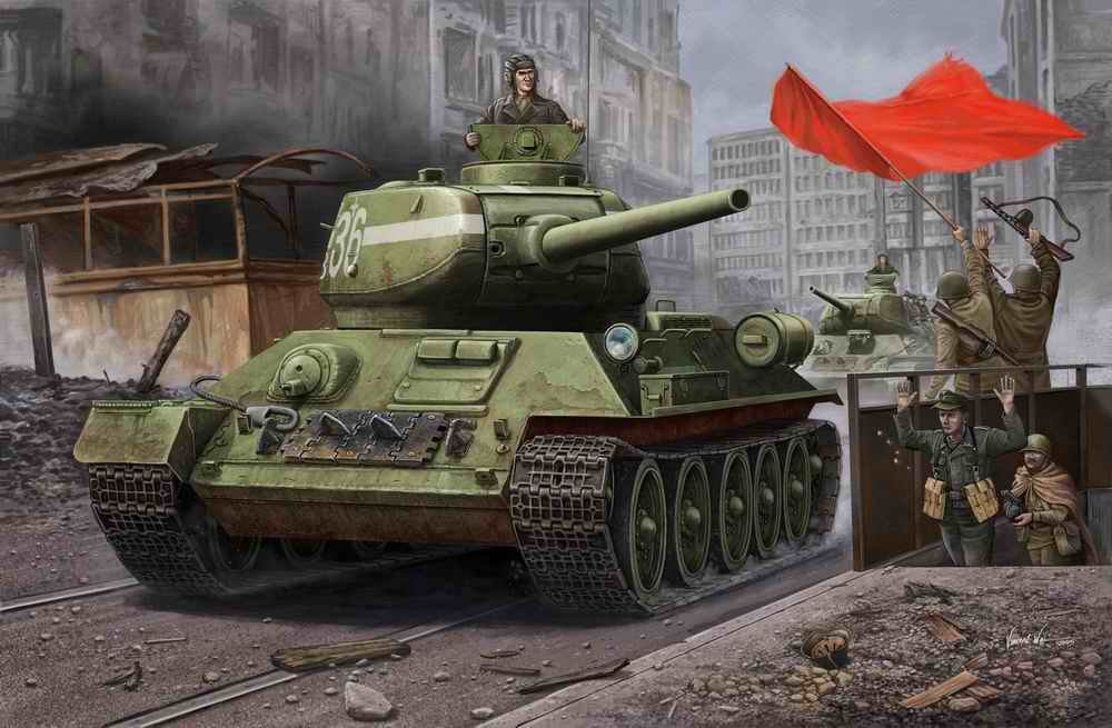 T-34 in Berlin image - Tank Lovers Group - Mod DB