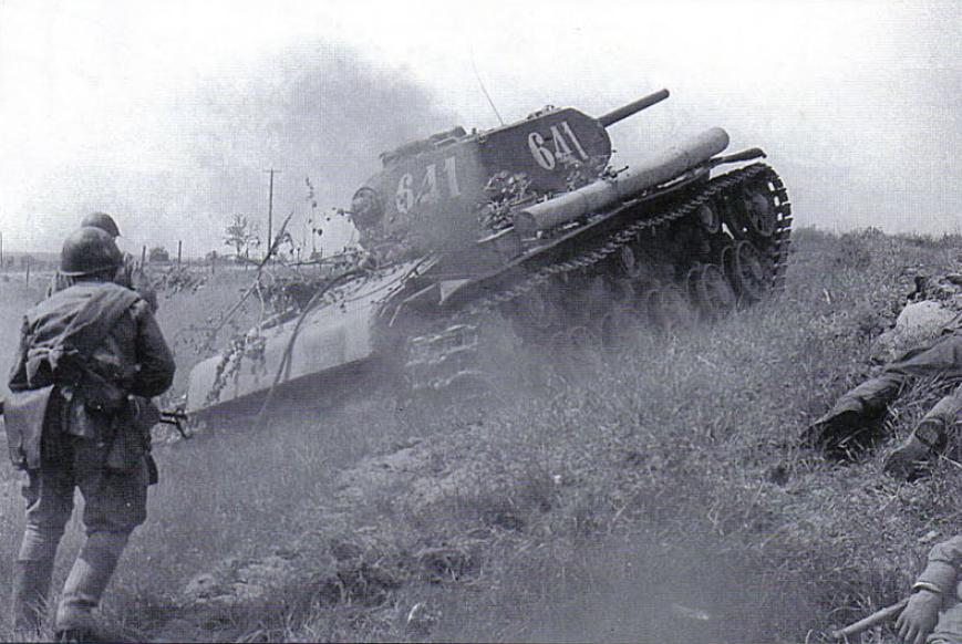 танки ссср в бою