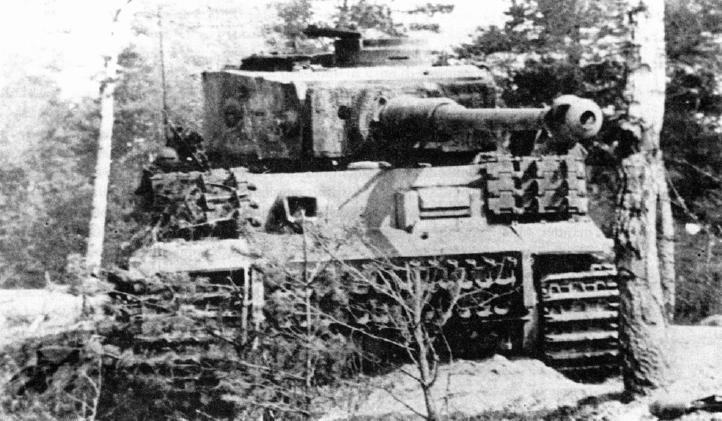 Destroyed Tiger Image Tank Lovers Group Mod Db