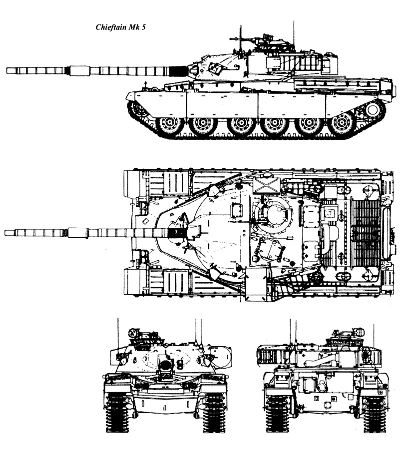 Chieftain mk 5 plans image tank lovers group mod db for Cistern plans