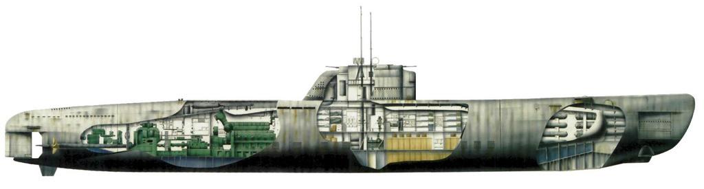 немецкие серии подводных лодок