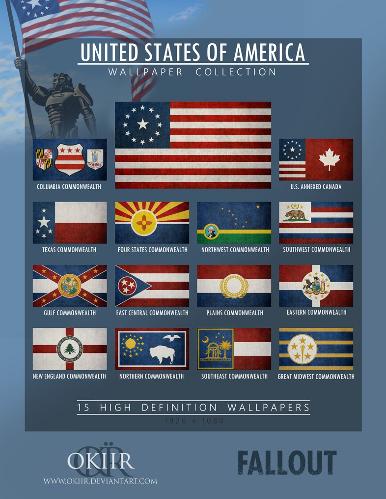 U S Games Systems Inc Tarot Inspiration Universal: Fallout, U.S. Flag Variants. Image