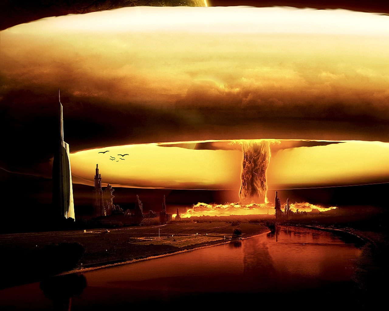 Media RSS Feed nuclear explosion  view original Nuclear Atoms Wallpaper
