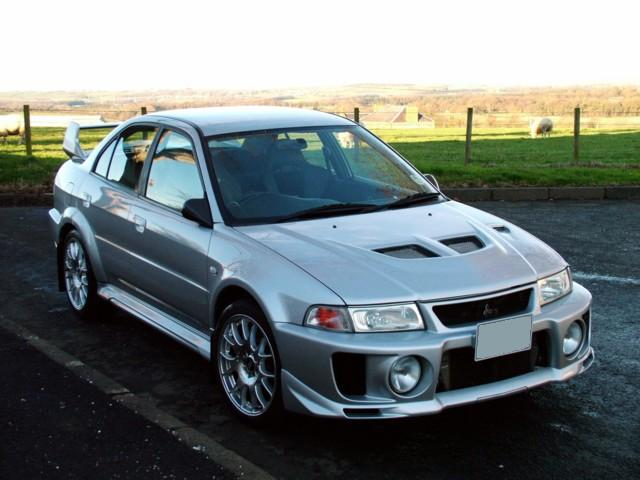 Mitsubishi Lancer Evolution V Image Automotive